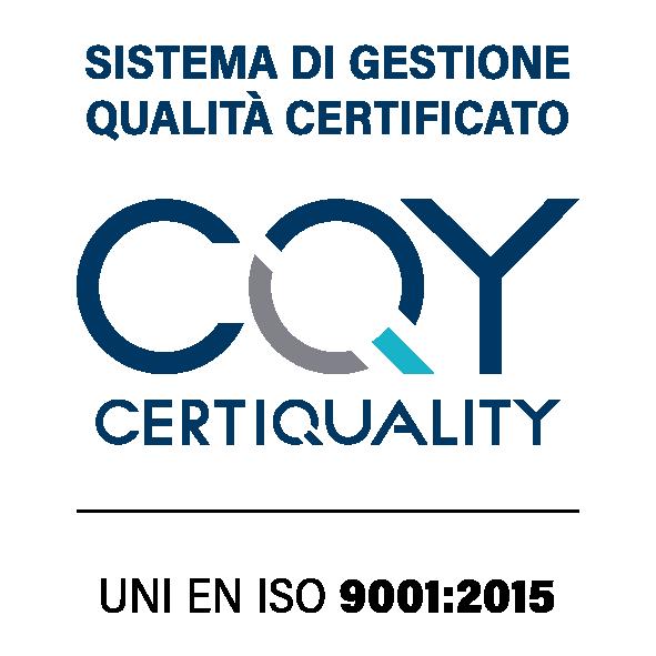 Logo Uni EN ISO 9001:2015 - Simposio